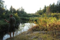Jeremy, Carp River fishing