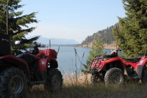 IMG_2014 riding four wheelers to Vermilion Falls - Montana