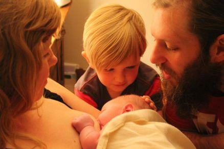 Jackson family_welcoming newborn baby boy