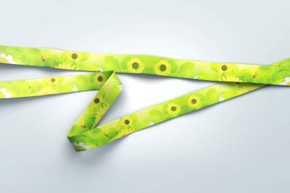 20mm Spring Lanyard with Trigger Clip & Safety Breakaway