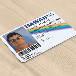 McLovin Superbad Novelty Driving License ID Card Replica