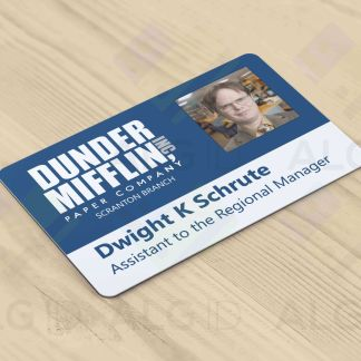 The Office Dunder Mifflin - Novelty ID Card (Dwight, Preview))