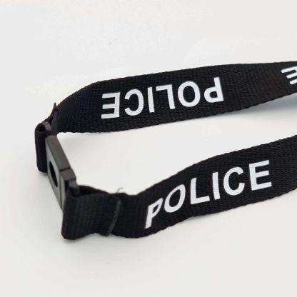 20mm Police Lanyard (Black)