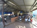 The canteen next to the school