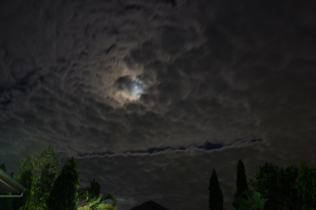 Our pre-Christmas night sky