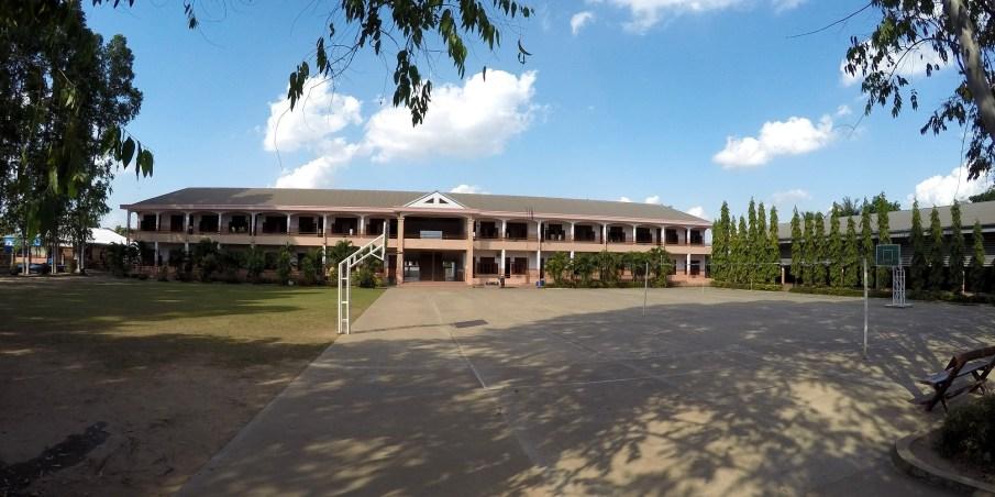 The school yard
