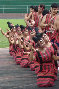 A traditional Lao dance