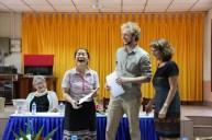 "Bouangeun Hanthavong (aka ""Linda"", AfC Assistant) all happy"
