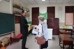 ... continued tour of the school
