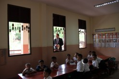 ... and a peek into the classrooms