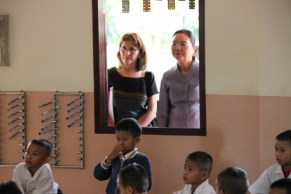 ... and the Minister catches a glimpse of communicative L2-teaching