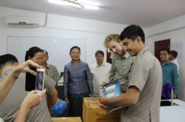 Book donations from the Ministry of Education and Sports