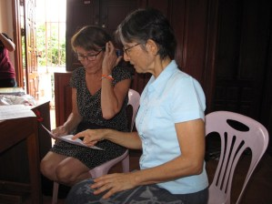 Checking possible timetables: Prof. Martin and Didi Gaorii