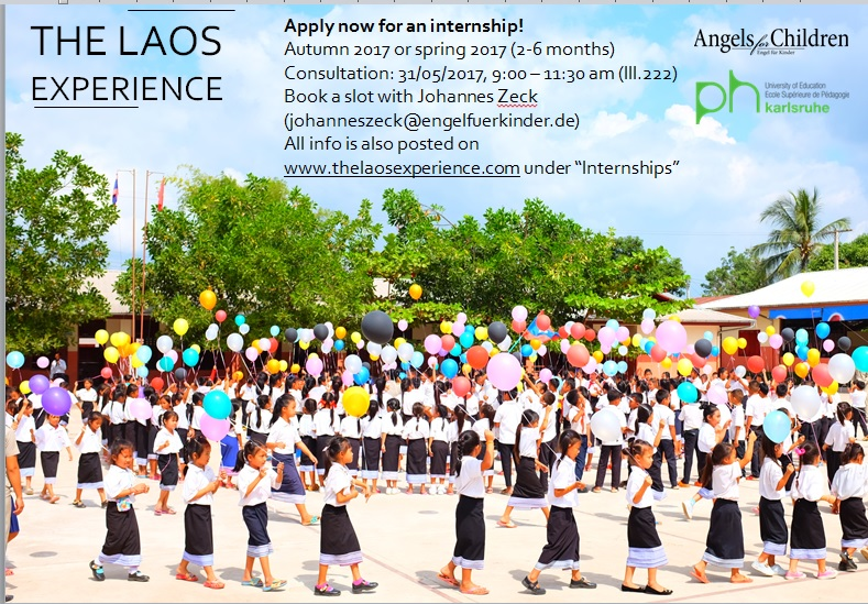 Apply now for an internship!