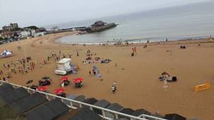 The Viking Bay in Broadstairs