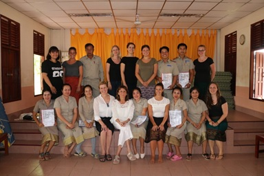 The participants of my workshop
