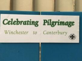 Celebrating pilgrimage...