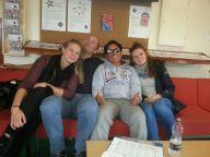 Silja, David, Anika and me