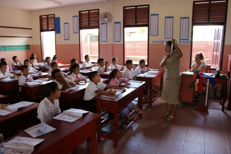 Hospitation in Ms Bounpheng's class