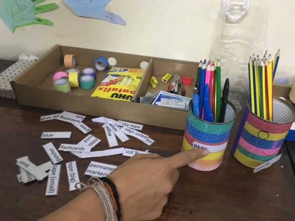 """DIY pencil holders (""""do-it-yourself"""")"""