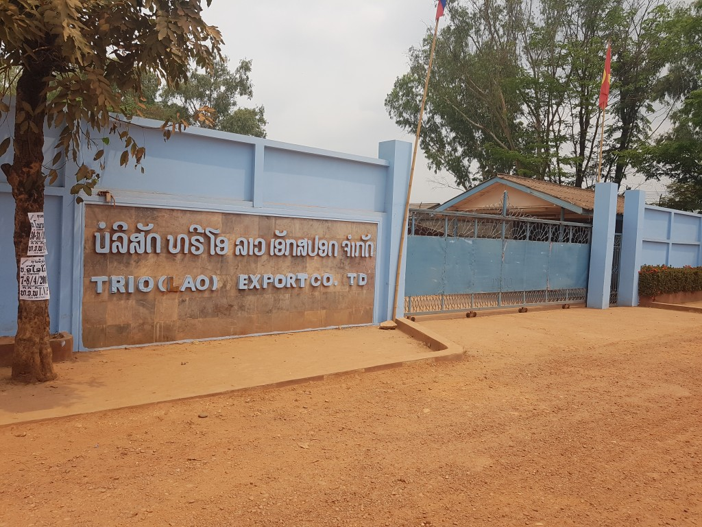 """""""Trio"""" (Lao) Export Co., Ltd Garment Manufacturers Industry – from fabrics to education in Ban Sikeud"""