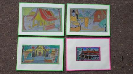 Some of Sonesai's art work of last year