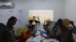 Happy faces after the workshop