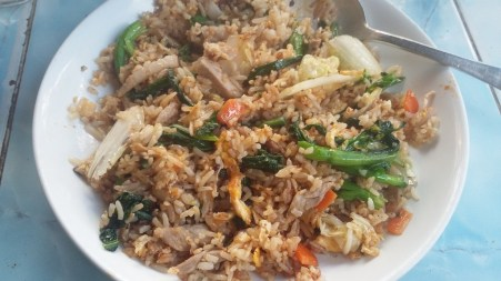 Fried rice with chicken