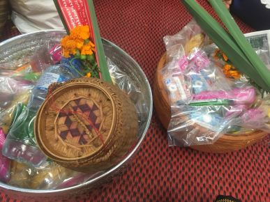 Gifts for the monks