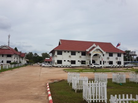 The main building of Savannakhet University