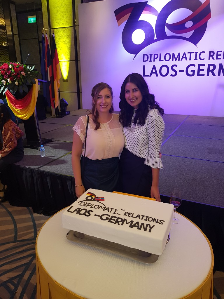 Festivities on 3 October 2018 in Vientiane: Celebrating 60 years of diplomatic relations between Laos and Germany