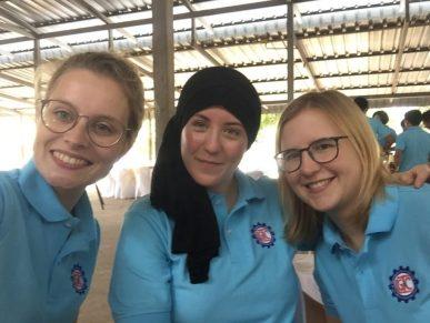 The LGTC girls on Teachers' Day
