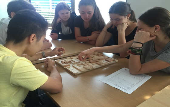 Vocational orientation days for high school pupils at the UeBZO and BHS Corrugated in Weiherhammer