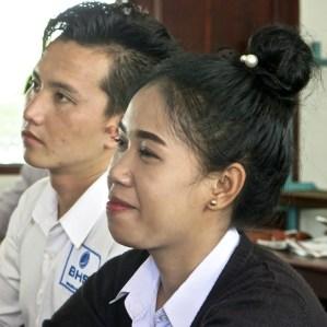Classmates, LGTC, Vientiane