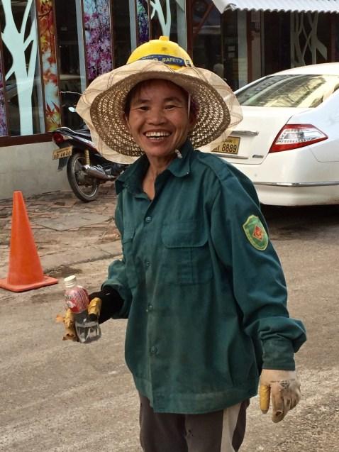 Construction worker, Vientiane