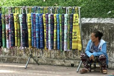 Street seller, Luang Prabang, Northern Laos