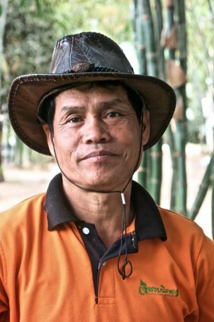 Gardener, Pheuksa Garden, Vientiane Province