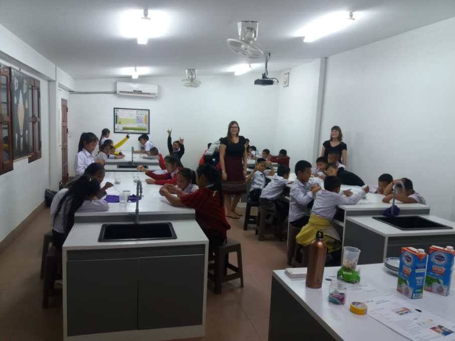 The Science Laboratory at Ban Phang Heng Secondary School