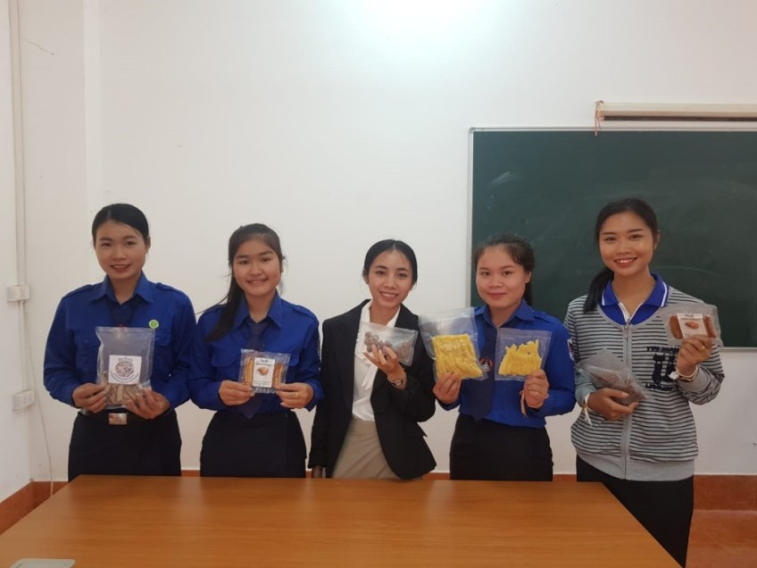 Product on Food processing technology laboratory - The Laos