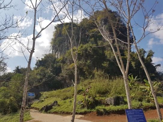 The little mountain Pha Nang Mone....