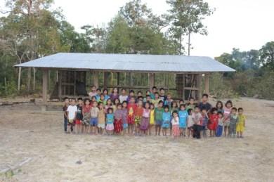 Rural primary school near Savannakhet...