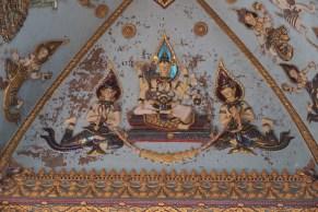 ... displaying Buddhist deities