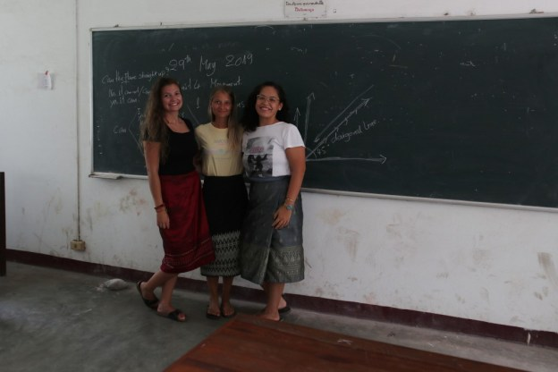 """Teacher Vanessa"", ""Teacher Rebekka"" and ""Teacher Elisabeth""..."