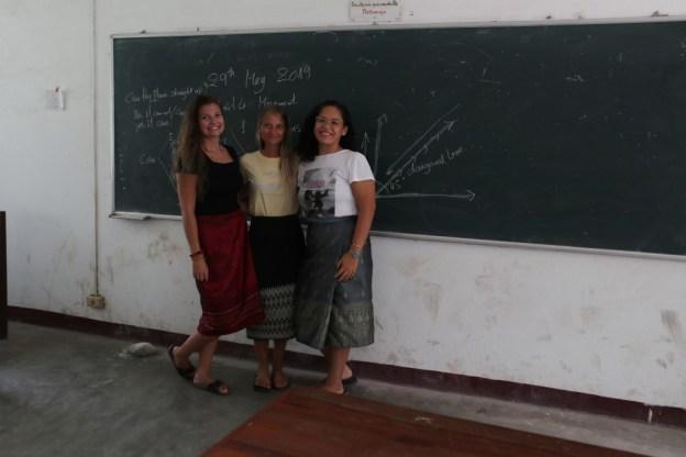 """Teacher Vanessa"", ""Teacher Rebekka"" and ""Teacher Elisabeth""..."