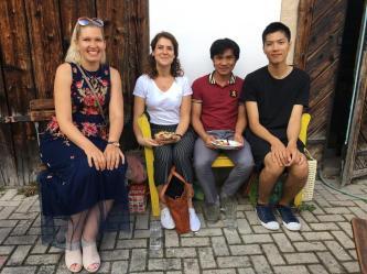 Susana Wermuth, Heike Mueller, Napha Khothphouthone, Tsai Wei-Cheng