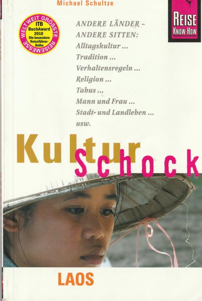 "Front cover of ""Kulturschock Laos"" - excerpt from ""KulturSchock Laos"", © 2005 Reise Know-How Verlag Peter Rump GmbH"