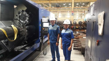 CNC training and in-company placement at BHS Corrugated in Shanghai, China