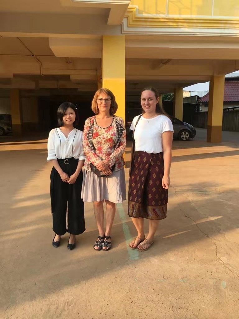 Research trio: Miaoxing Ye, Prof Martin, Rebecca Dengler
