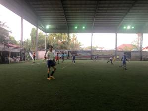 Another type of LGTC's football games: Teachers vs. students!