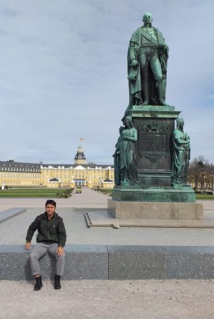 Spending time at the Castle... of Karlsruhe